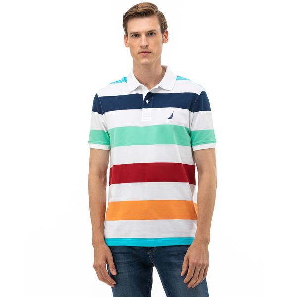 NAUTICA Erkek Slim Fit Renkli Polo