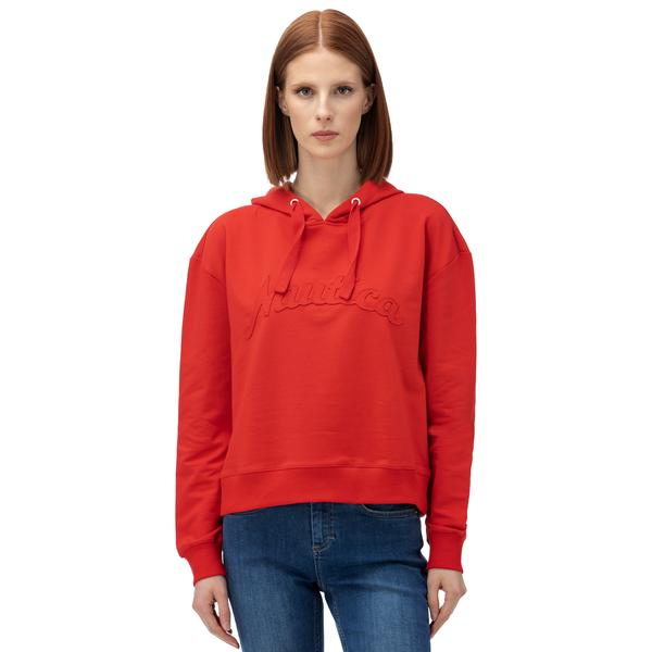 Nautica Kadın Kırmızı Sweatshirt