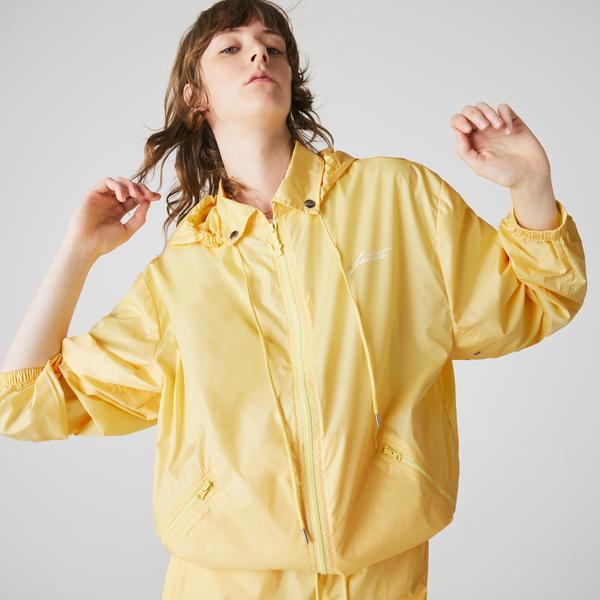 Lacoste L!VE Kadın Sarı Mont