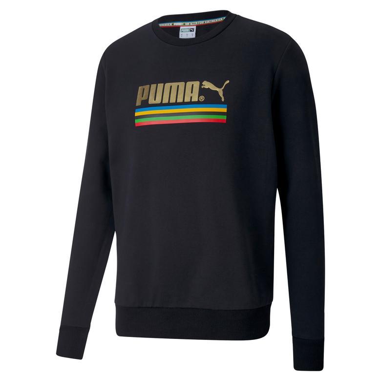 Puma TFS Worldhood Erkek Siyah Sweatshirt