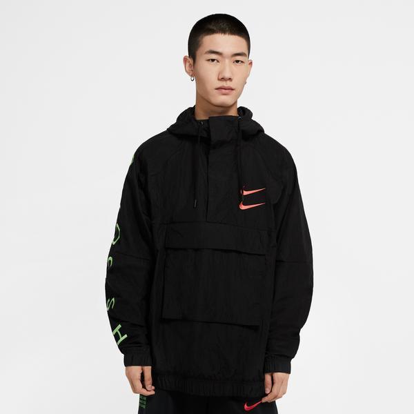 Nike Sportswear Swoosh Siyah Erkek Ceket