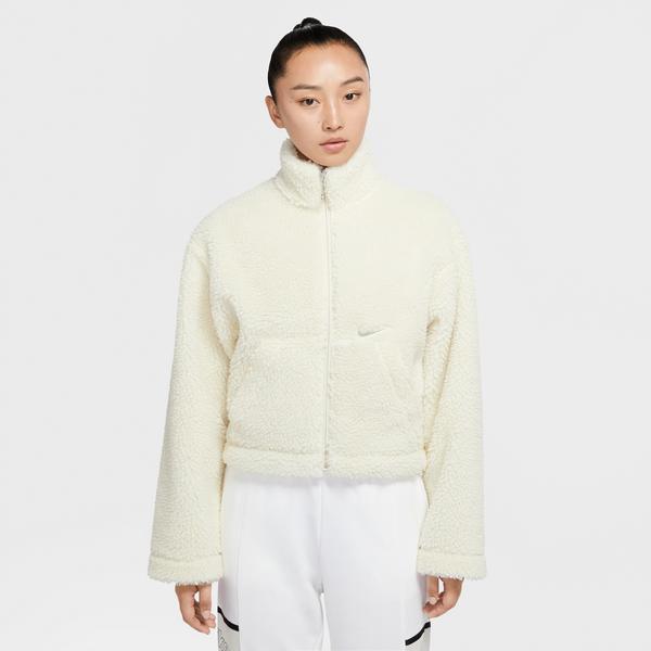 Nike Kadın Beyaz Ceket