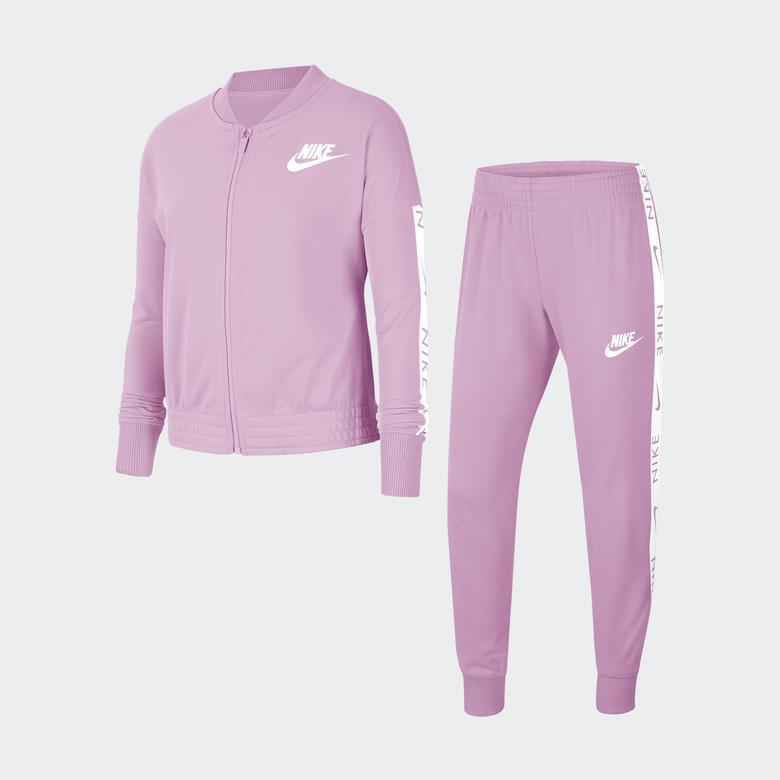 Nike Çocuk Pembe Eşofman Takımı