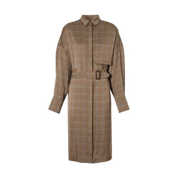 Burberry Kadın Kahverengi Elbise