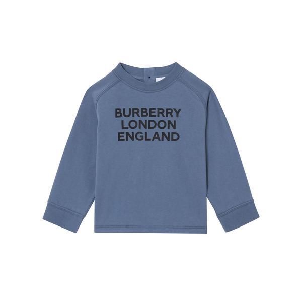 Burberry Çocuk Mavi T-Shirt