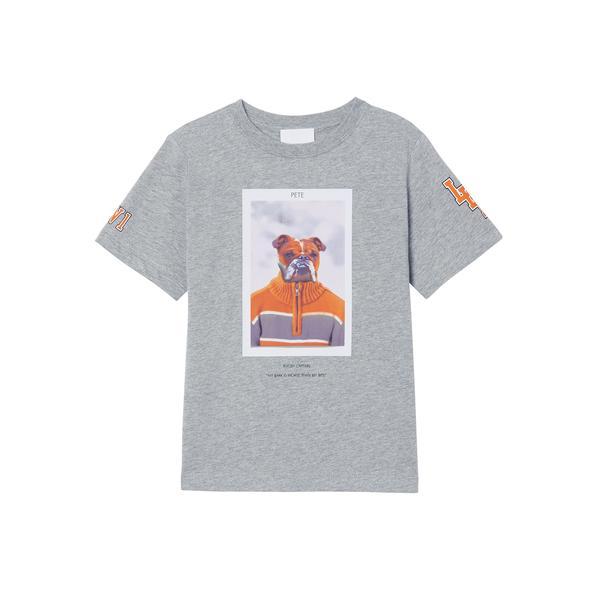 Burberry Çocuk Gri T-Shirt