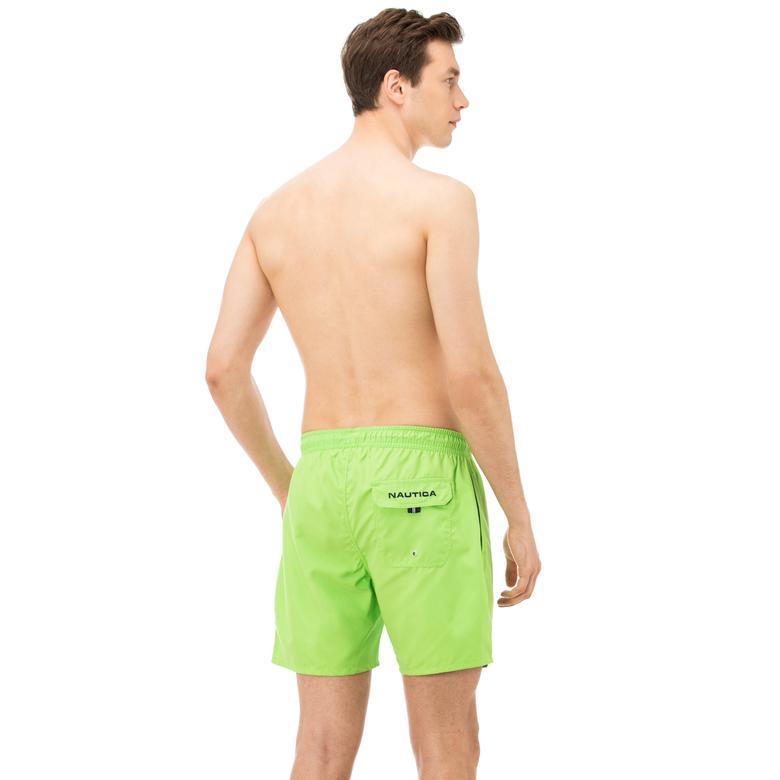 Nautica Erkek Yeşil Uzun Mayoşort
