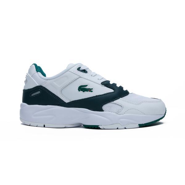 Lacoste Storm 96 Erkek Beyaz-Yeşil Spor Ayakkabı
