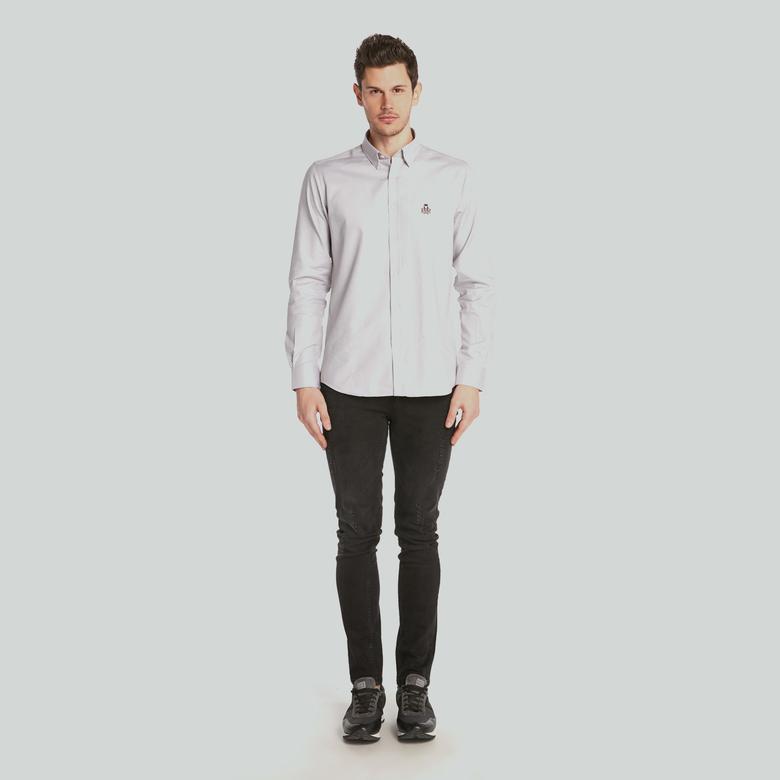 Ruck&Maul Erkek Beyaz Gömlek