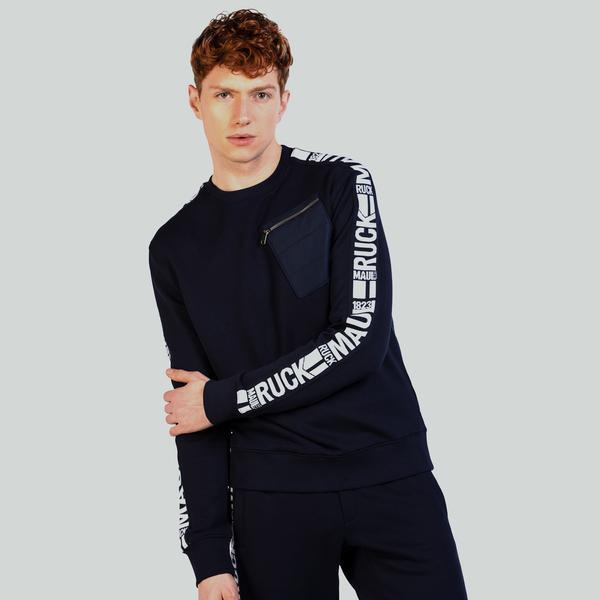 Ruck&Maul Erkek Mavi Sweatshirt
