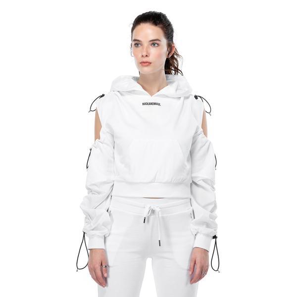 Ruck&Maul Kadın Beyaz Sweatshirt
