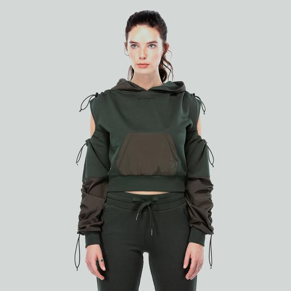 Ruck&Maul Kadın Yeşil Sweatshirt