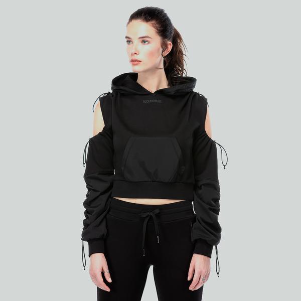 Ruck&Maul Kadın Siyah Sweatshirt