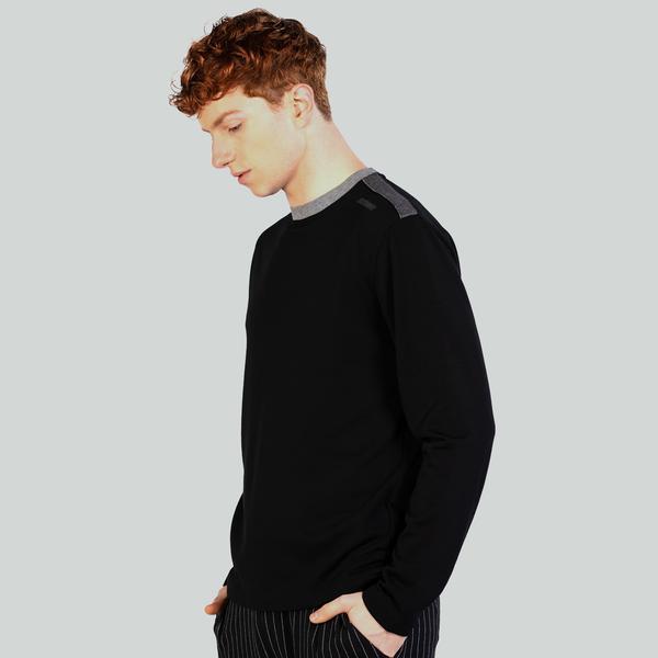 Ruck&Maul Erkek Siyah Sweatshirt