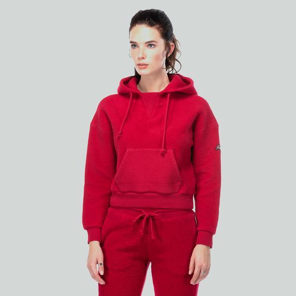 Ruck&Maul Kadın Kırmızı Sweatshirt