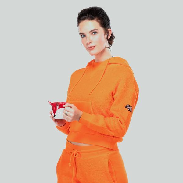 Ruck&Maul Kadın Turuncu Sweatshirt