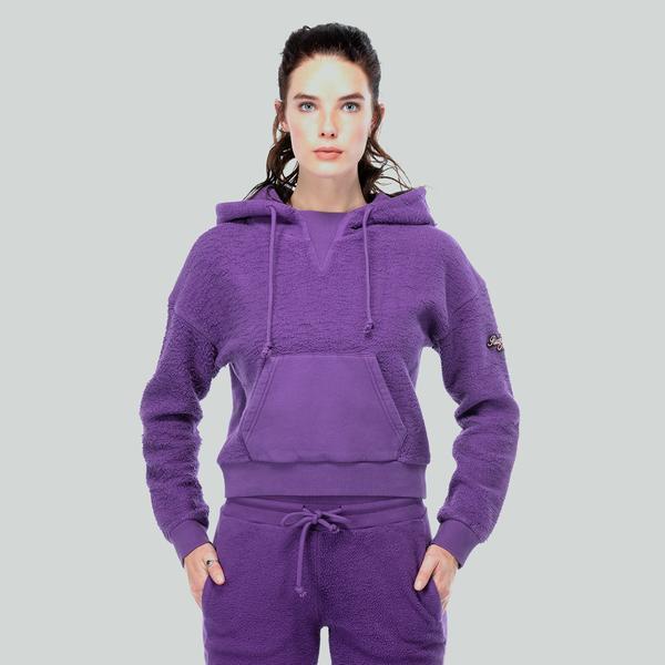 Ruck&Maul Kadın Mor Sweatshirt