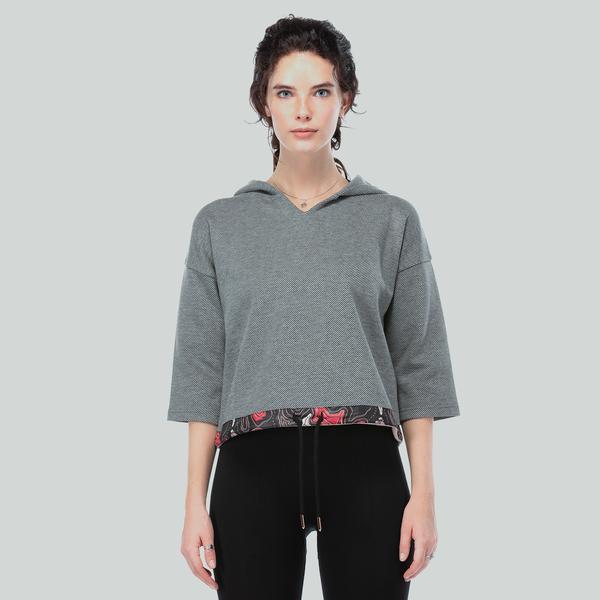 Ruck&Maul Kadın Gri Sweatshirt