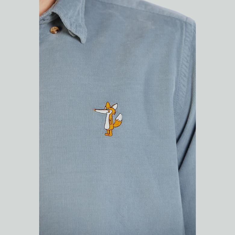 Ruck&Maul Erkek Mavi Gömlek