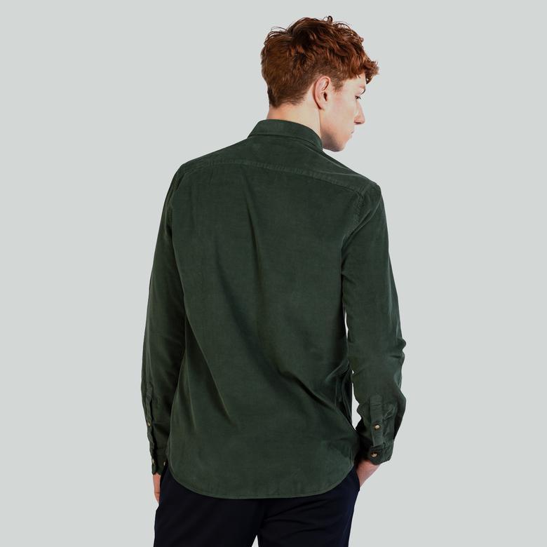 Ruck&Maul Erkek Yeşil Gömlek