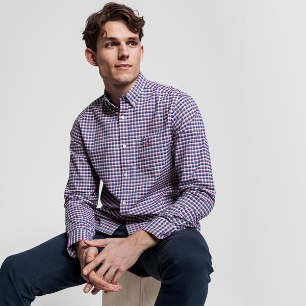 GANT Erkek Renkli Kareli Regular Fit Gömlek