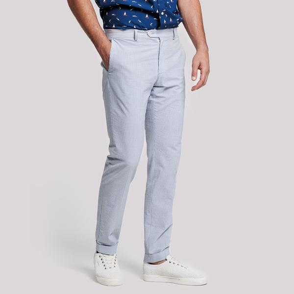 GANT Erkek Krem Slim Fit Chino Açık Mavi Pantolon