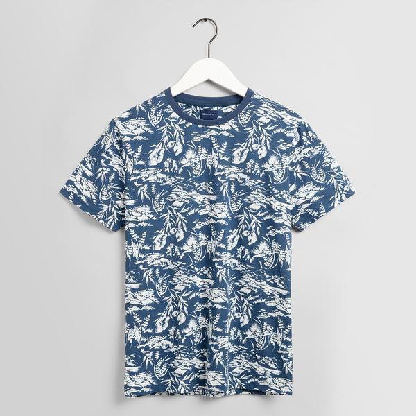 GANT Erkek Lacivert Tshirt