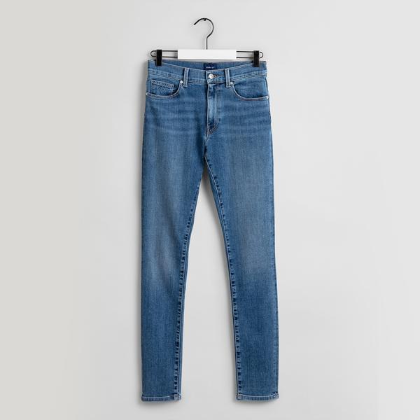 GANT Kadın Mavi Jean Pantolon