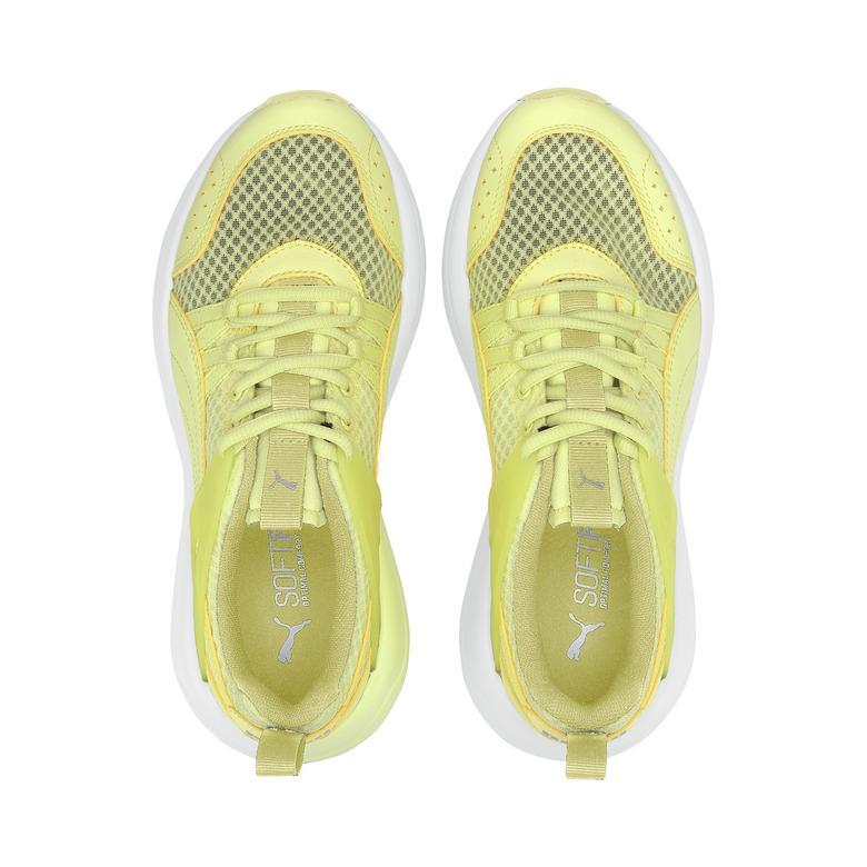 Puma Nuage Run Cage Summer Kadın Sarı Spor Ayakkabı
