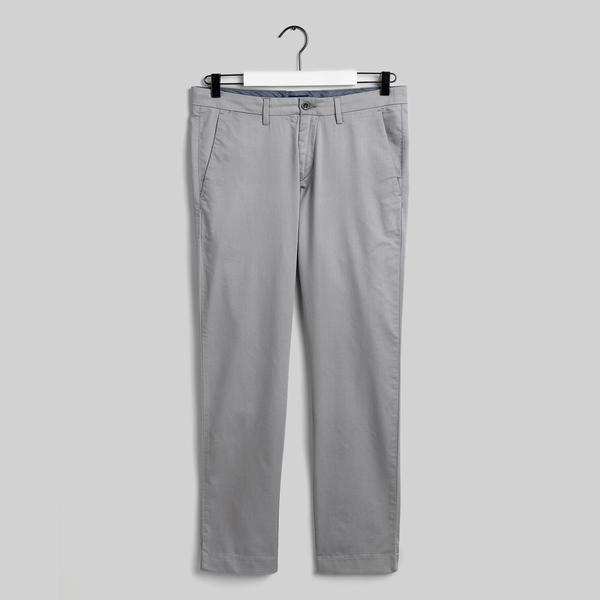GANT Erkek Gri Slim Fit Chino Pantolon