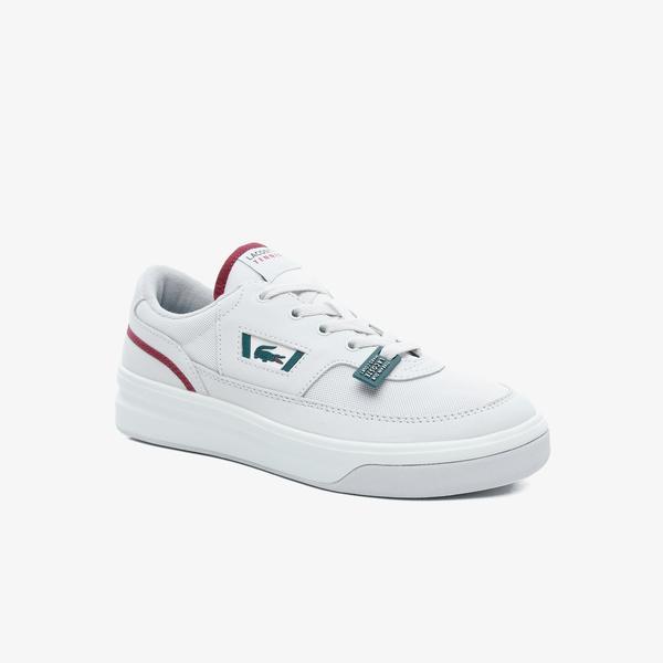 Lacoste G80 Og 120 1 Sma Erkek Açık Bej Deri Sneaker