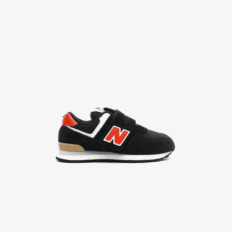 New Balance 574 Çocuk Siyah Spor Ayakkabı