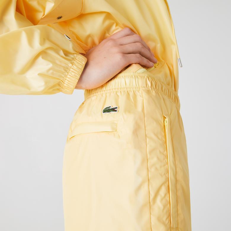 Lacoste L!VE Kadın Sarı Eşofman Altı