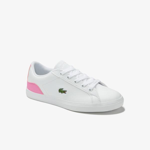Lacoste Lerond Çocuk Beyaz Spor Ayakkabı
