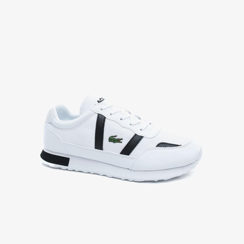 Lacoste Partner 0120 1 Kadın Beyaz - Siyah Sneaker