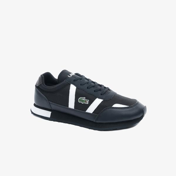 Lacoste Partner 0120 1 Kadın Siyah - Beyaz Sneaker