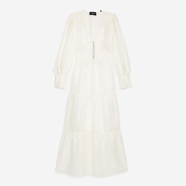 The Kooples Kadın Beyaz Elbise