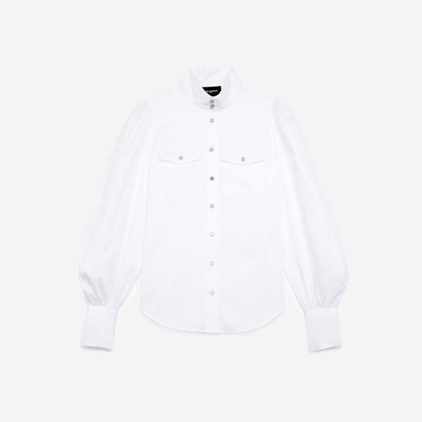 The Kooples Kadın Beyaz Gömlek