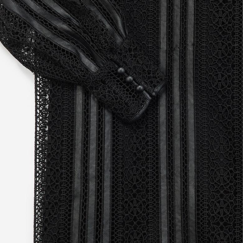 The Kooples Kadın Siyah Elbise