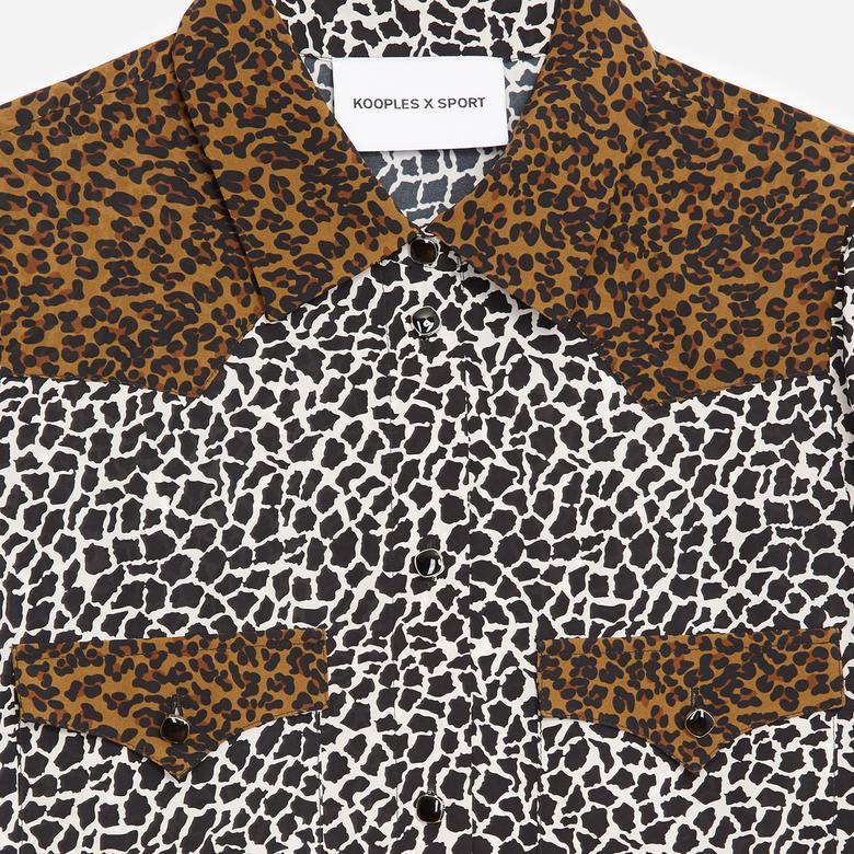 The Kooples Kadın Desenli Cepli Gömlek