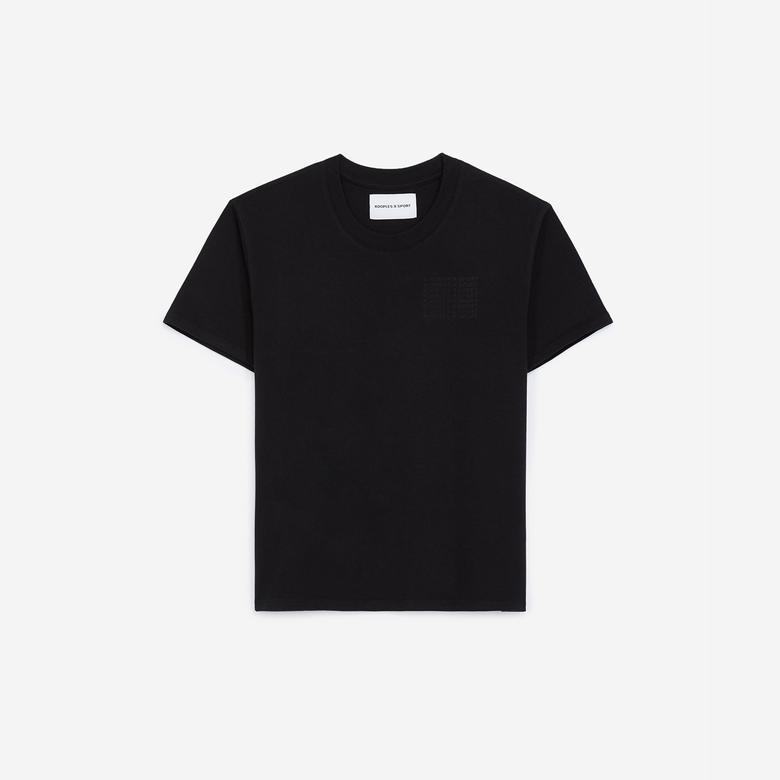 The Kooples Kadın Siyah T-Shirt
