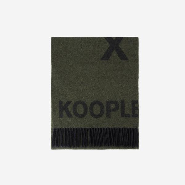 The Kooples Erkek Yeşil Atkı