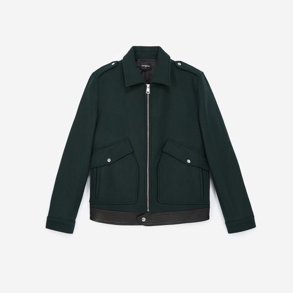The Kooples Erkek Yeşil Ceket