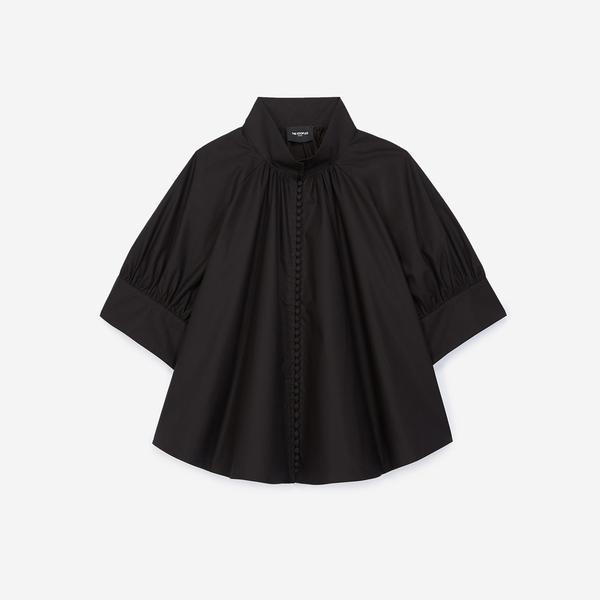 The Kooples Kadın Loose Fıt Siyah Gömlek