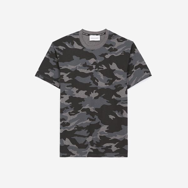 The Kooples Erkek Gri T-Shirt