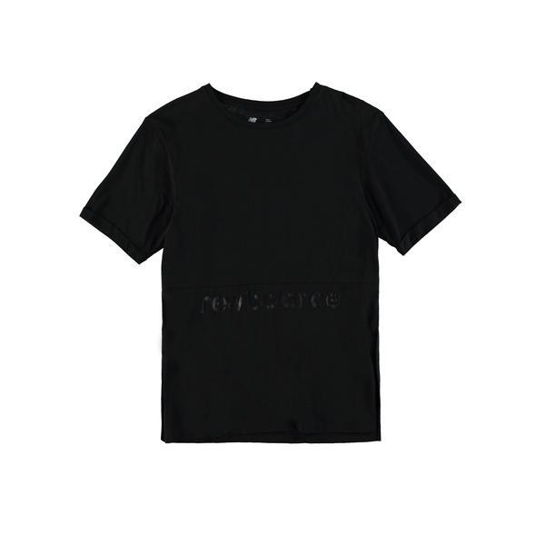 New Balance Kadın Siyah T-Shirt