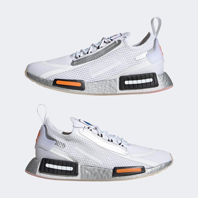 adidas NMD_R1 Spectoo Unisex Beyaz Spor Ayakkabı