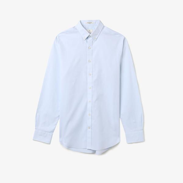 Gant Gömlek PinPoint Oxford Mavi Erkek