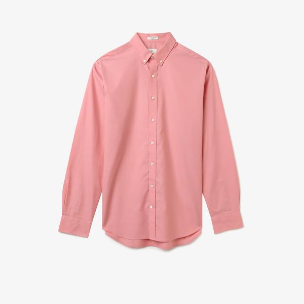 Gant Gömlek PinPoint Oxford Pembe Erkek