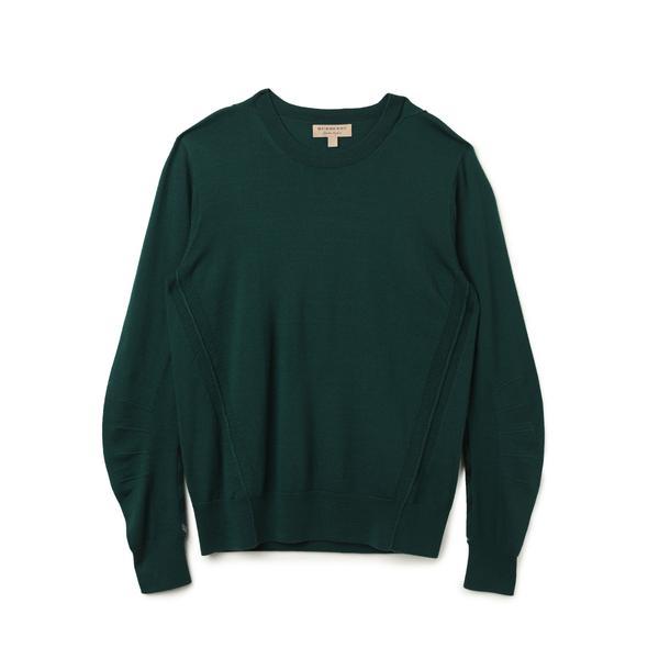 Burberry Erkek Yeşil Triko